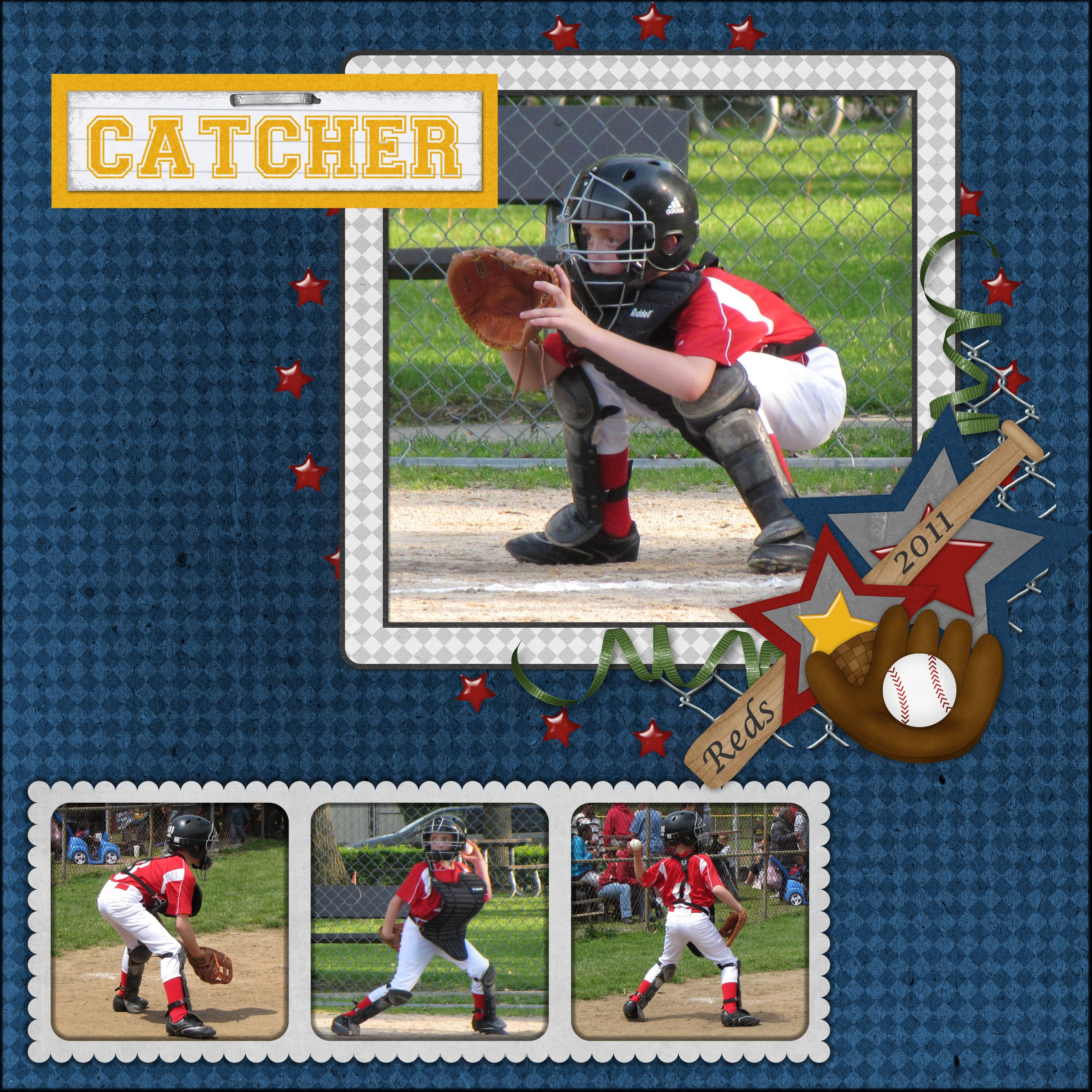 Catcher (With images) Baseball cards, Catcher, Digital