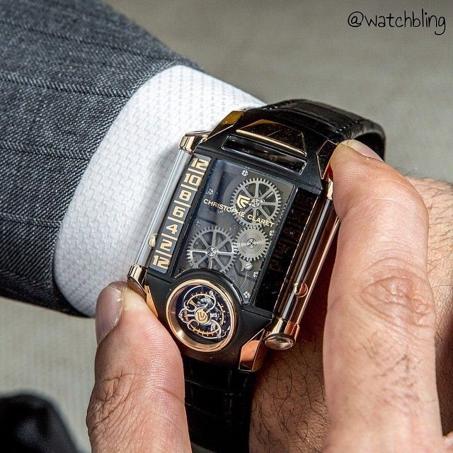 b16ad622c3a What s On Your Wrist  — Watches don t get more extreme than this. by ...