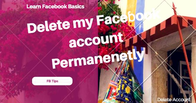 Delete my Faceɓook account Permanently