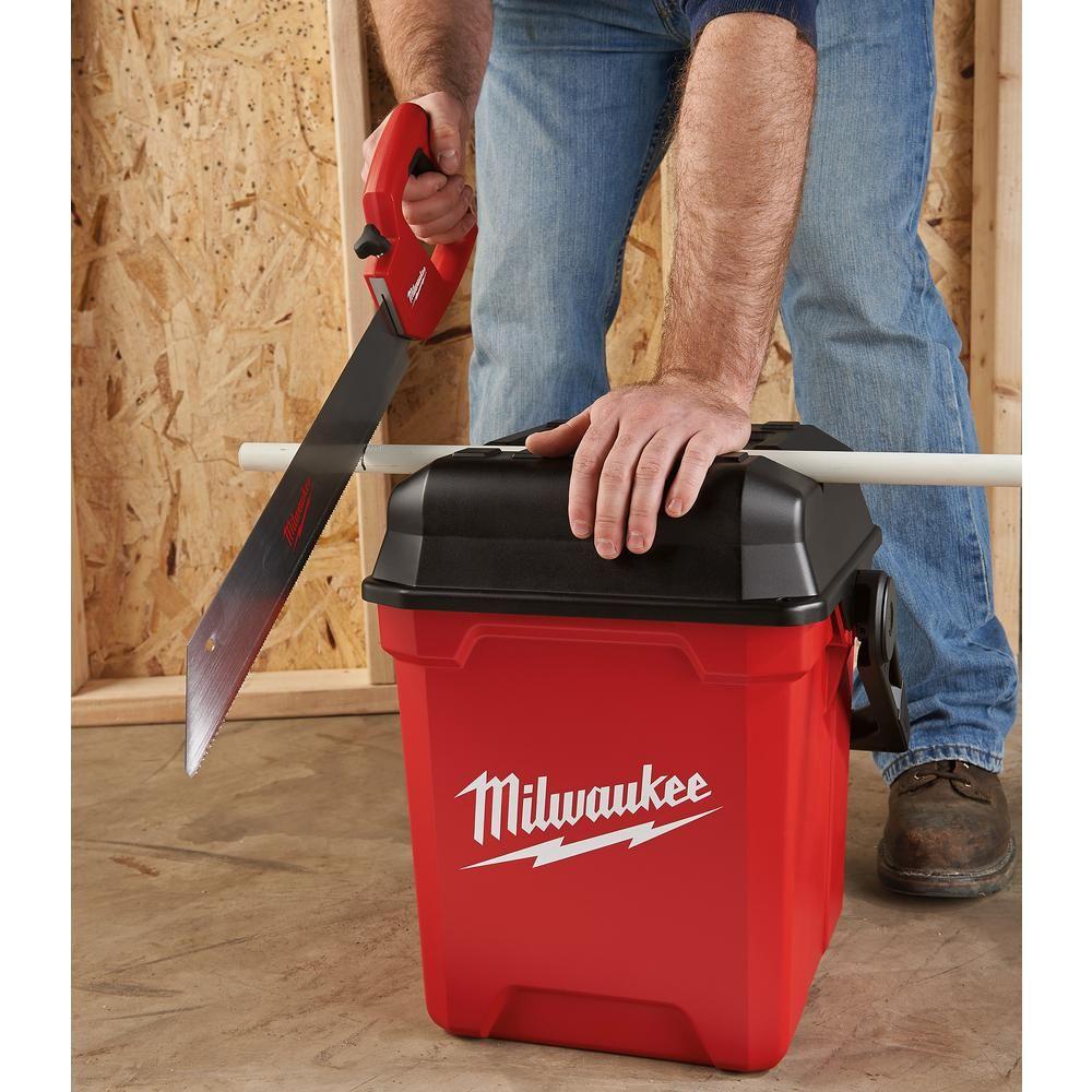 Milwaukee 13 in jobsite work tool boxmtb1400 the home