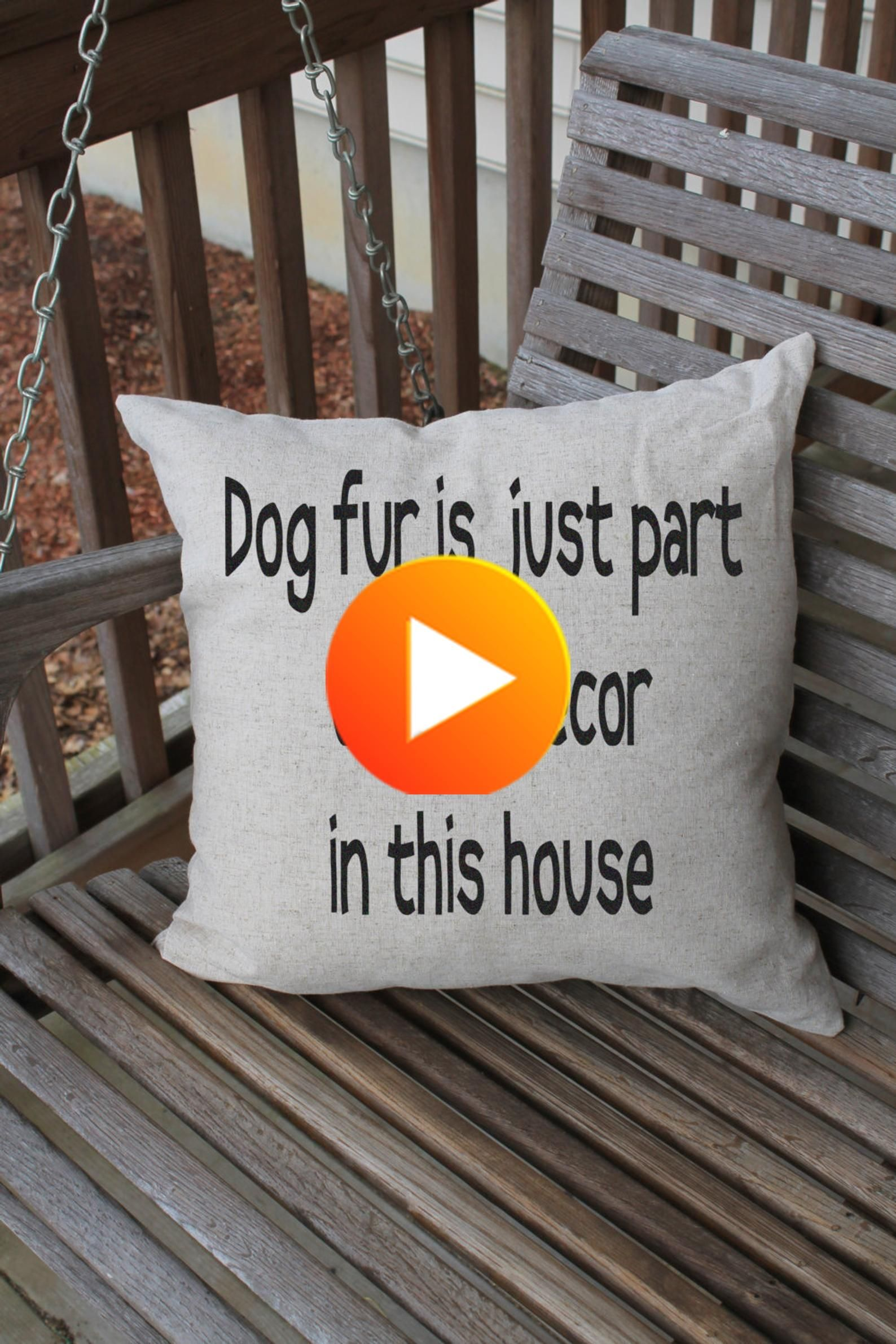 Pillow Cushion Cover, Funny Dog Quote, Pet Pillow, Dog Quote, Funny Pet Decor, Pet Home Decor,