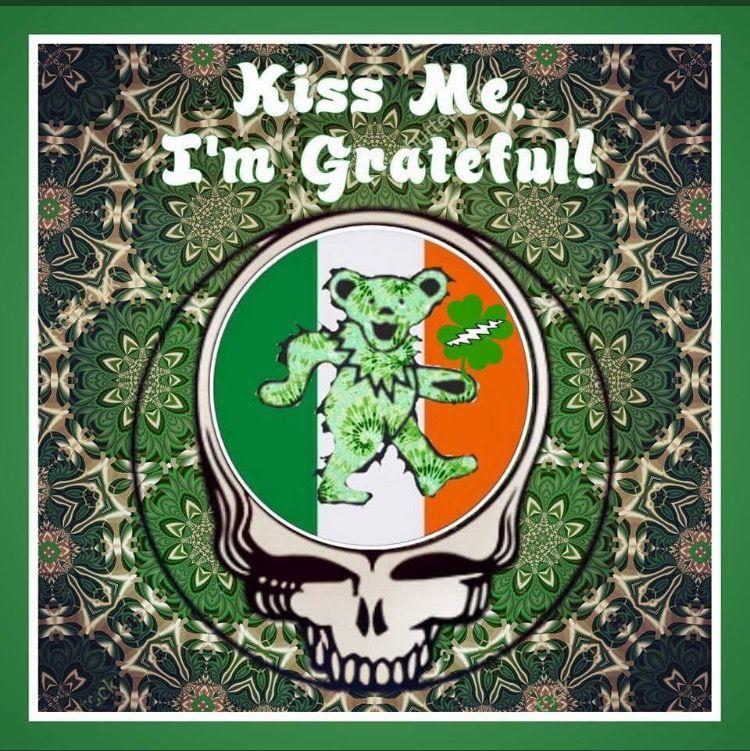 Syf The Grateful Dead St Patrick S Day Stealie Grateful