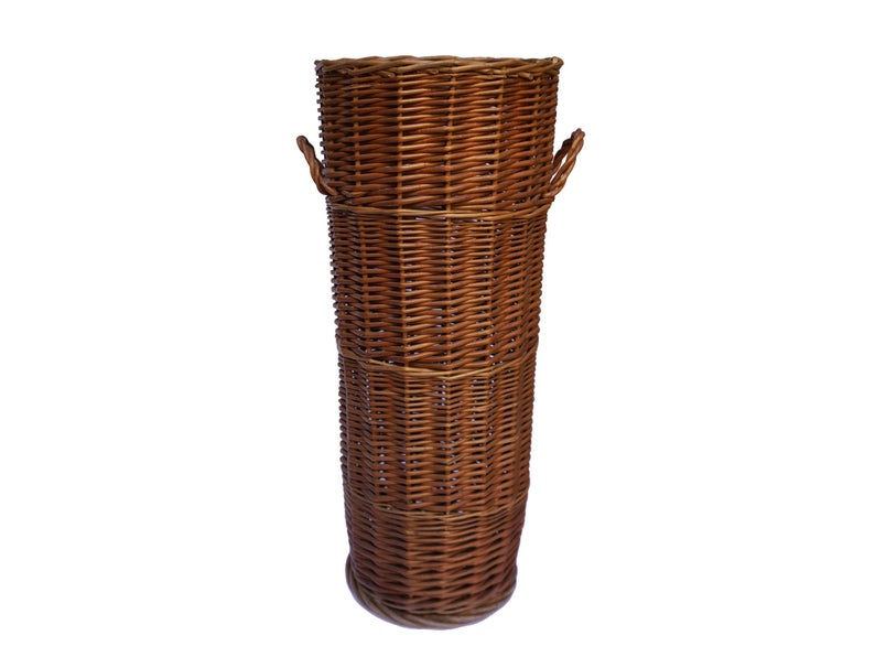 French Baguette Bread Basket Tall Wicker Laundry Hamper Etsy