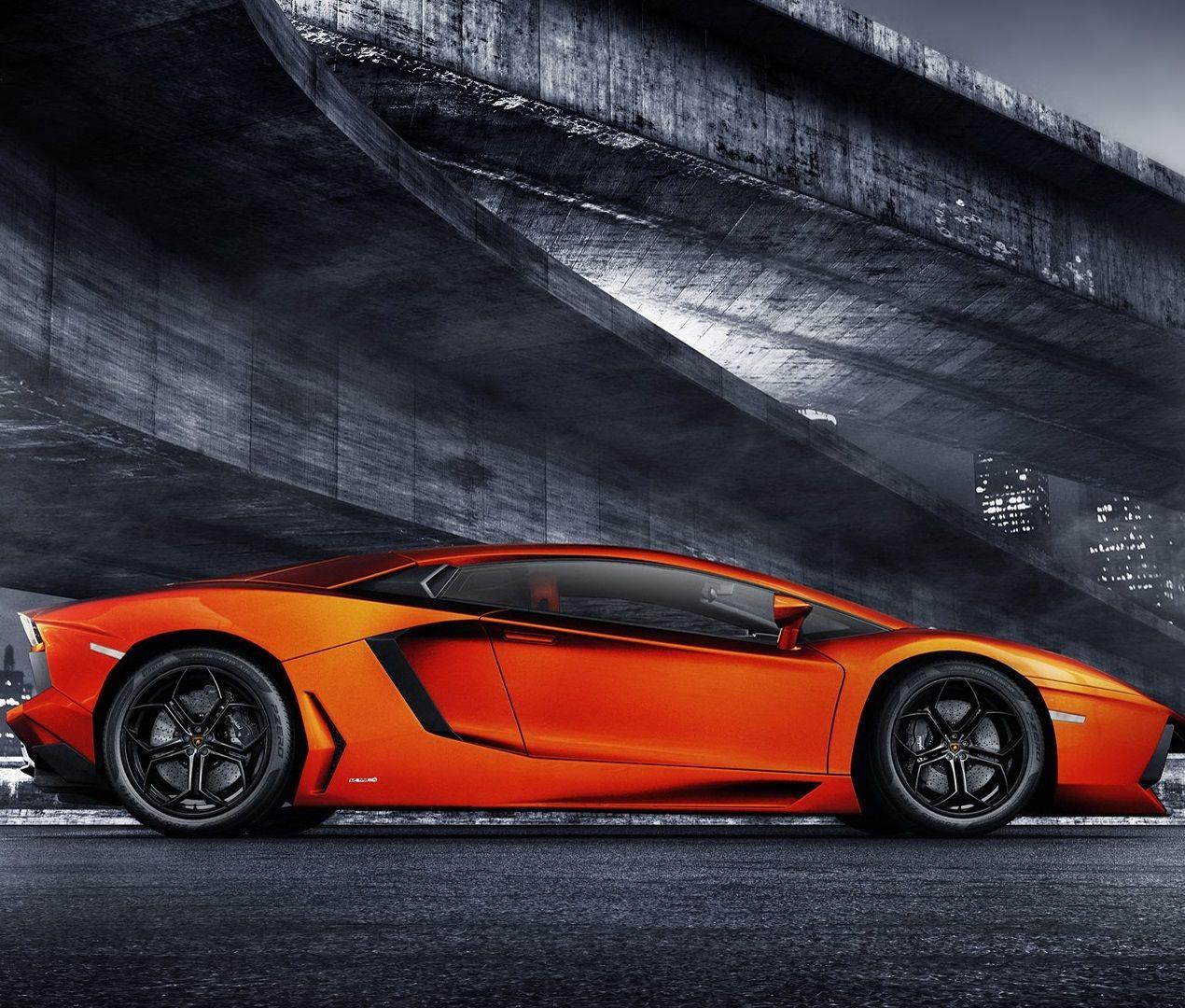 Molten Lava Lamborghini Aventador Carflash Lamborghini