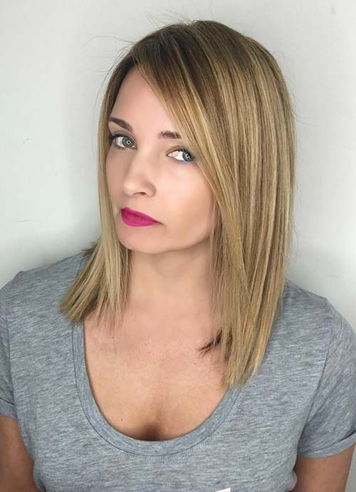 Hairstyles For Thin Fine Hair Extraordinary 55 Short Hairstyles For Women With Thin Hair  Straight Long Bob