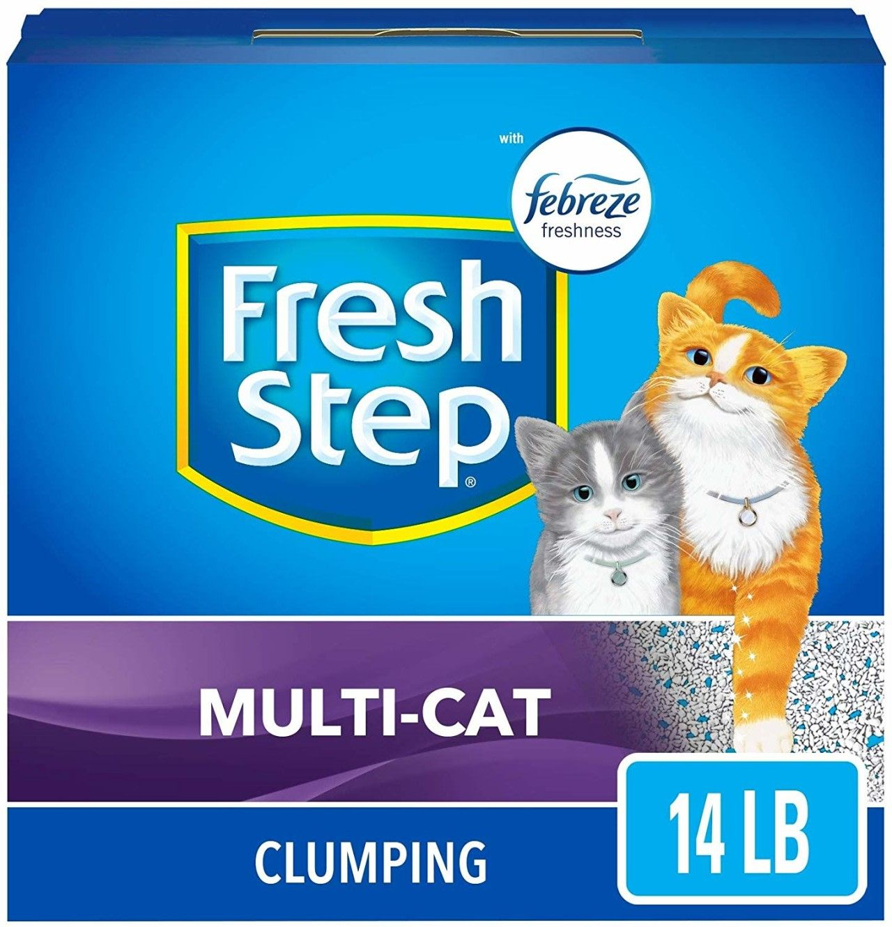 Fresh Step Multi Cat Clumping Litter With Febreze 14 Lb As Low As 7 55 Become A Coupon Queen In 2020 Clumping Cat Litter Cat Litter Cats