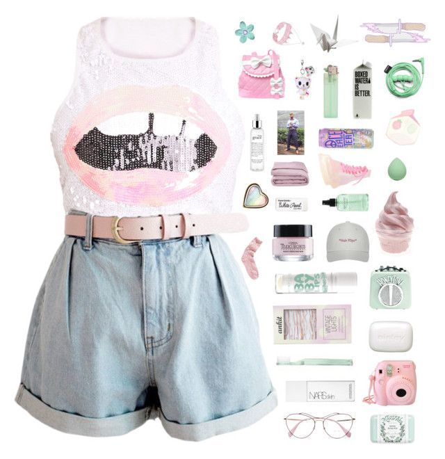 """""""♡ now i see truth, lies, and in between"""" by nervous-touch ❤ liked on Polyvore featuring Miu Miu, Mistral, Fujifilm, NARS Cosmetics, Supersmile, Sisley, Streamline NYC, L'Oréal Paris, philosophy and Paper Mate"""