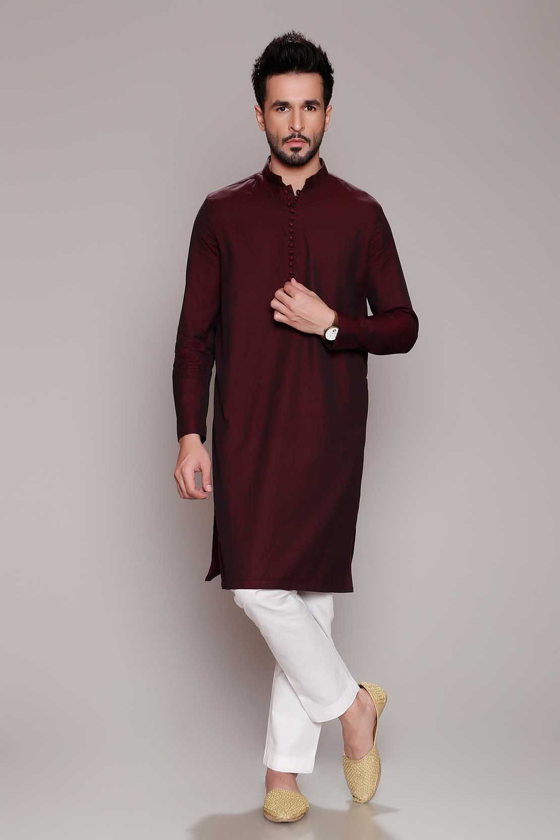 2ab4b3b2d5 Latest Men Modern Kurta Styles Designs Collection 2018-19 by Chinyere