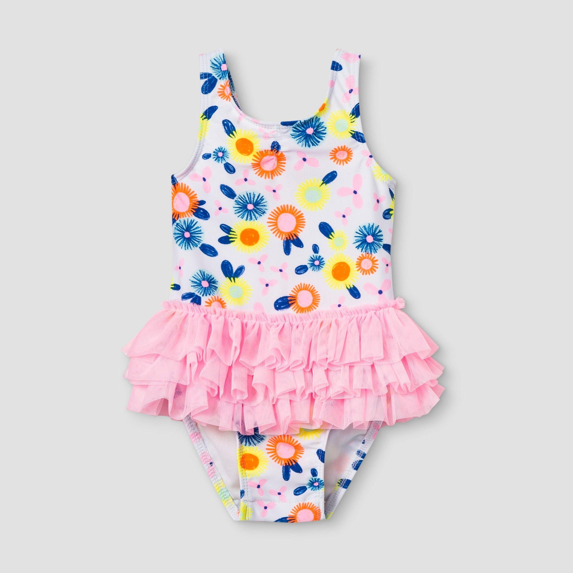 18m Baby Swimwear Toddler Girl Swimsuit