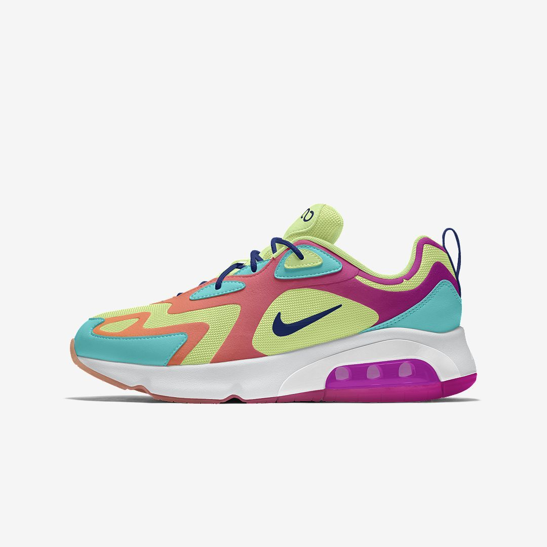 Nike Air Max 200 Premium By You Custom