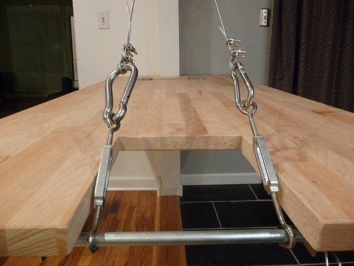 How To Build A Drawbridge Murphy Table Countertop Murphy