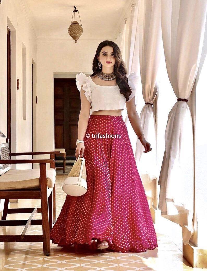 Lehenga skirt Indian lehenga designer skirt designer lehenga ...
