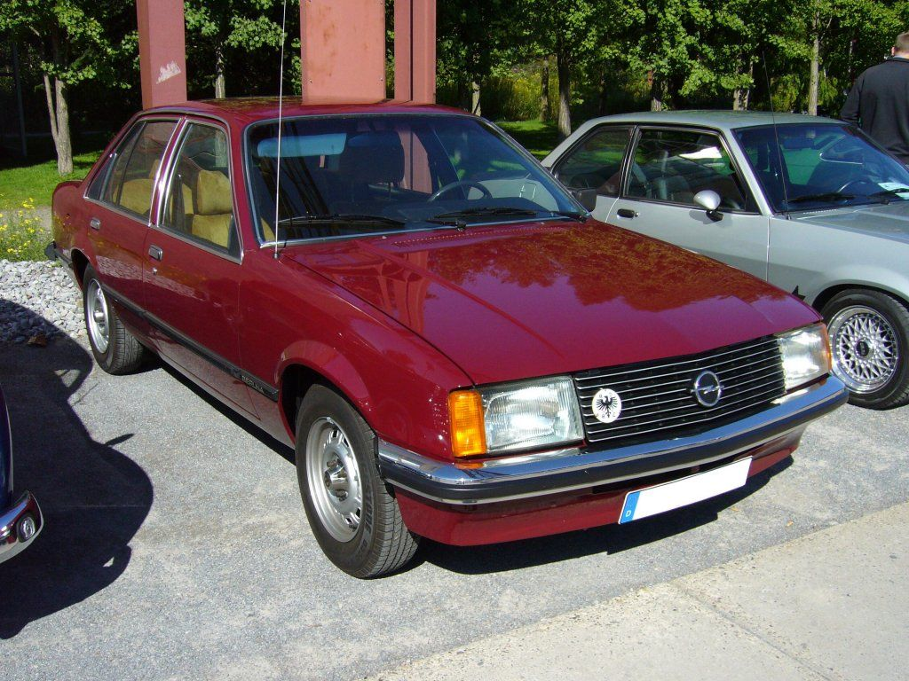 Image illustrative de l article opel ascona - Opel Rekord 20 E 1