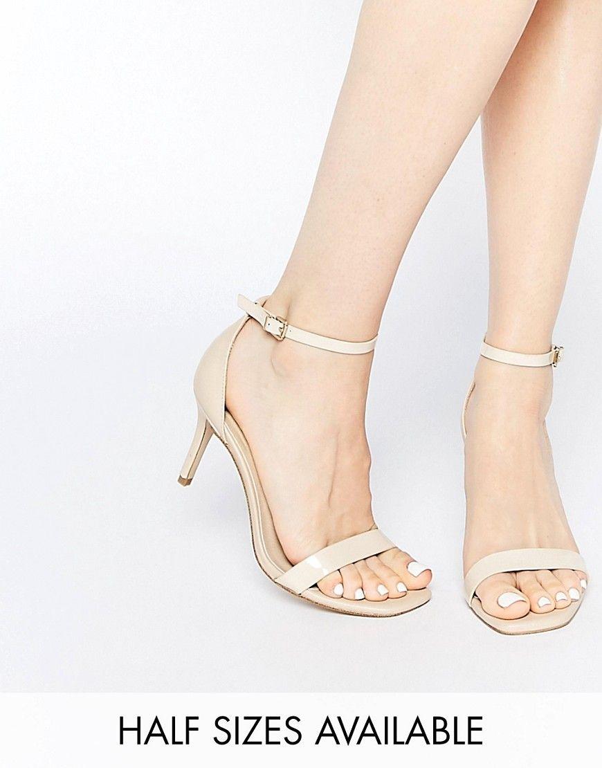 9b6a2441e78 ASOS HEYDAY Heeled Sandals - heel 7cm --------------------- 42.25 ...