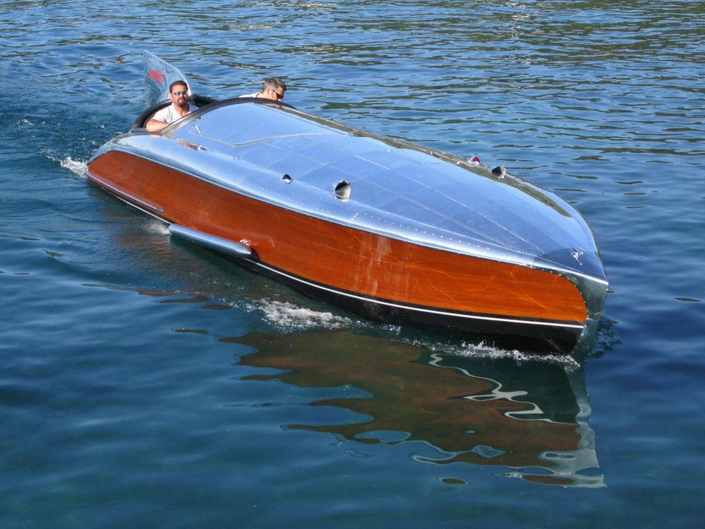 II 1930 Garwood Race Boat (With images) Wood boats