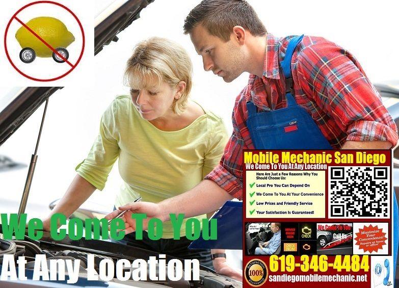 Pre Purchase Car Inspection San Diego Mobile Auto Mechanic