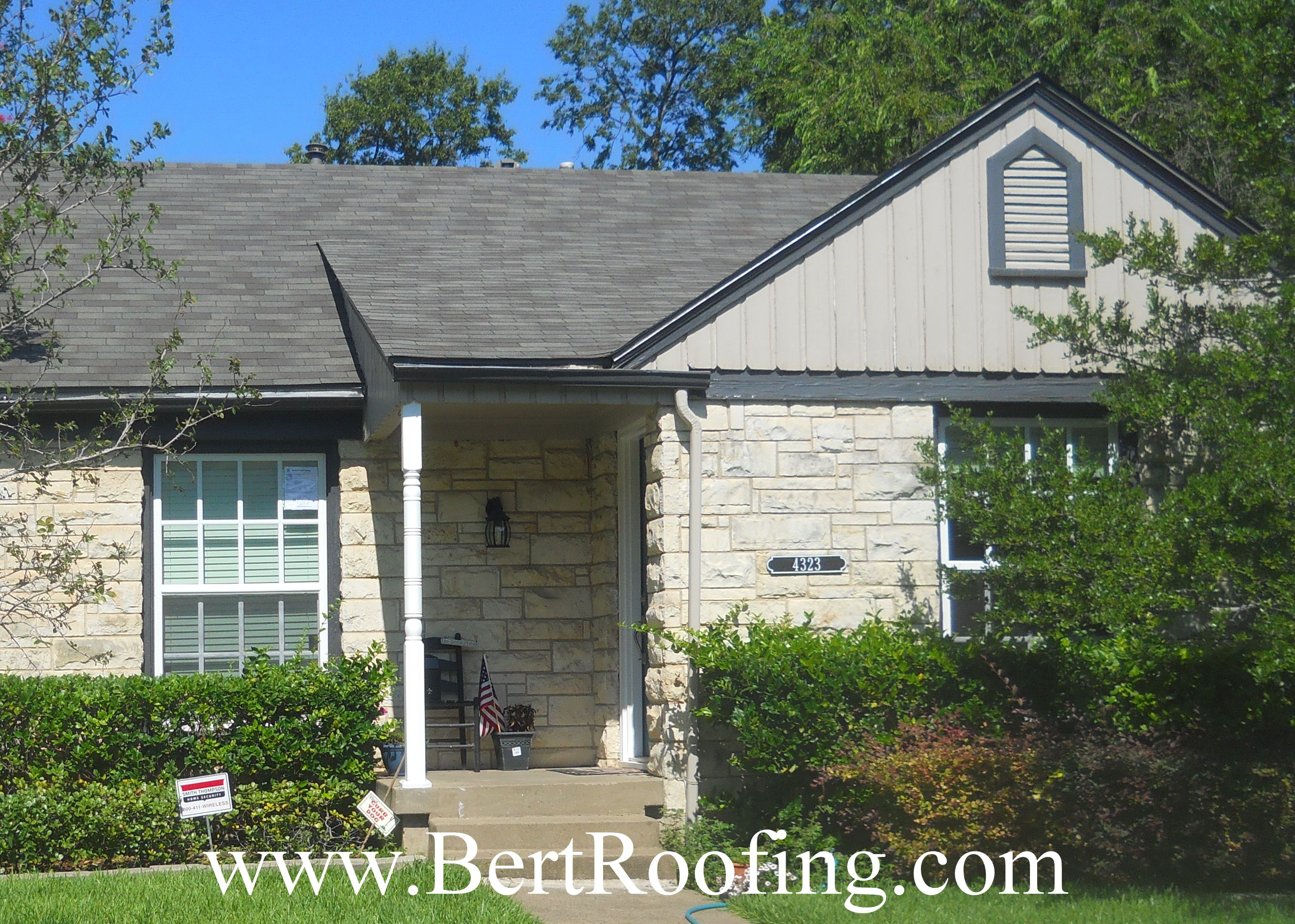 Quality roofing job begins before the shingles go on home remodeling - Certainteed Ct20 20 Year Composition Shingle 3 Tab Color Weathered Wood Installed By Bert Roofing Inc Of Dallas In Dallas On July 2014