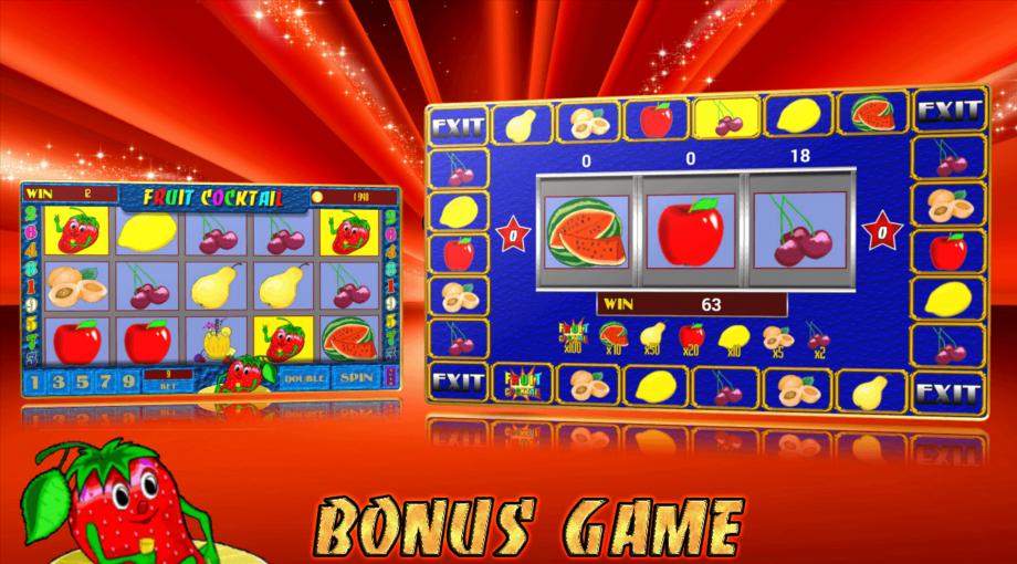 Игровой аппарат фрукты