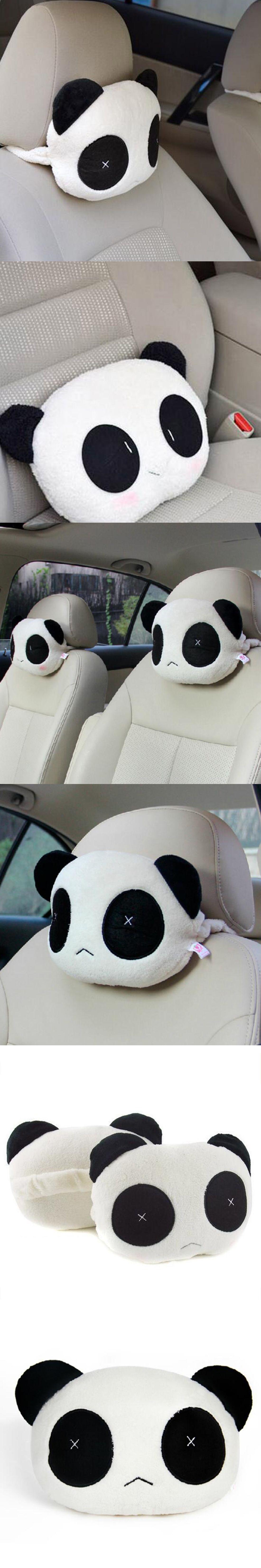 Dewtreetali super cute panda plush auto waist car seat chair
