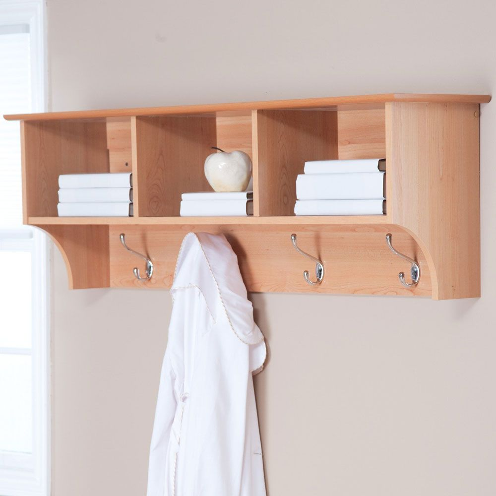 Bathroom Wall Shelves Wood | Wooden Shelves | Pinterest | Wall ...