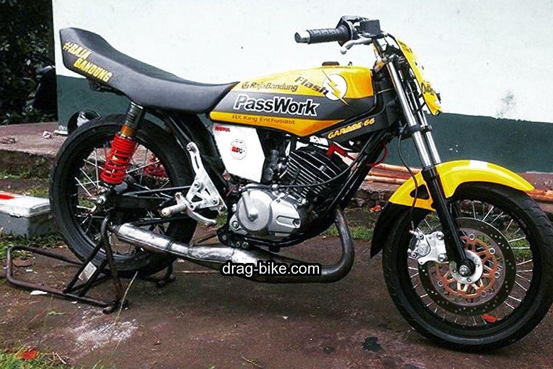 Yamaha Rx King Modif Road Race Racing Drag Racing Cafe Racer