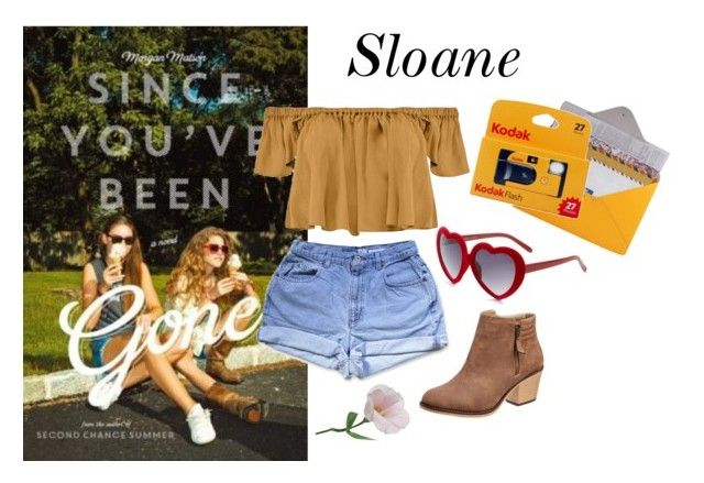 """""""since you've been gone: Sloane"""" by fruitrull-happy ❤ liked on Polyvore featuring Boohoo, Design 55, women's clothing, women, female, woman, misses and juniors"""