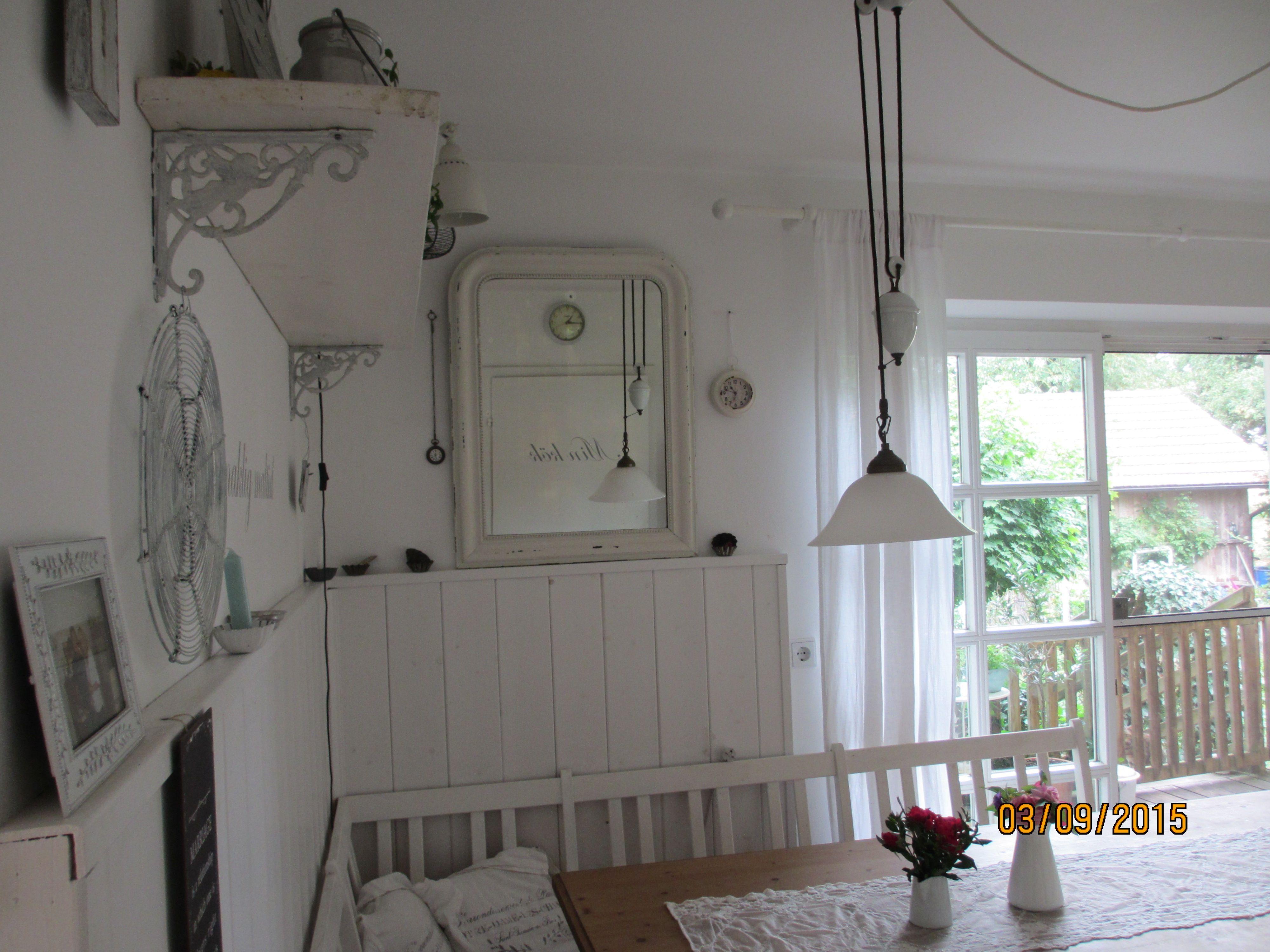 Küchenschrank Shabby ~ Küche sitzplatz shabby weiß living shabby white shabby
