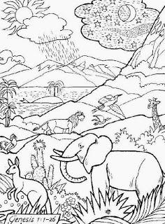 Imagenes Cristianas Para Colorear Dibujos Para Colorear De La Creacion Paginas Para Colorear De Biblia Dibujos De La Creacion Mundo Para Colorear