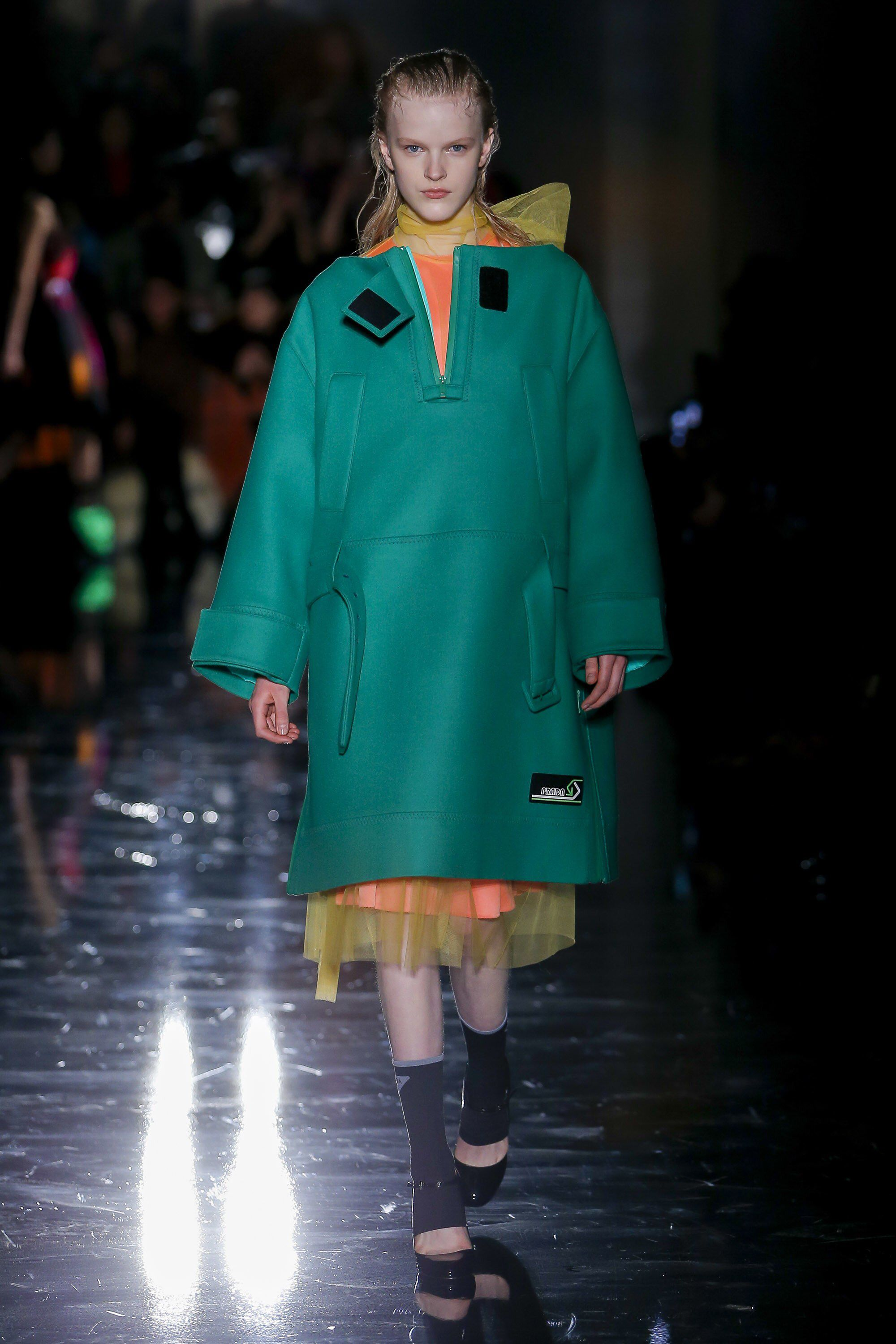 2dae6e88e24b7 Prada Fall 2018 Ready-to-wear Fashion Show Collection