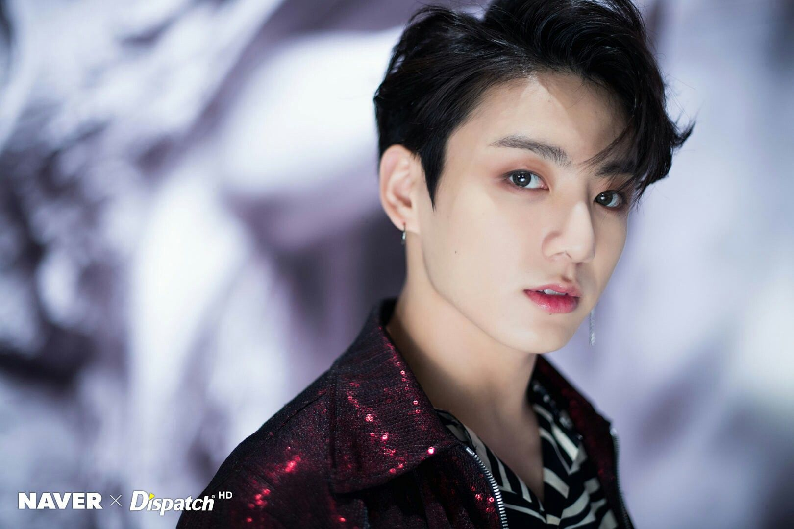 Jungkook Bts Naver X Dispatch Hd Fake Love Mv Behind The Scene