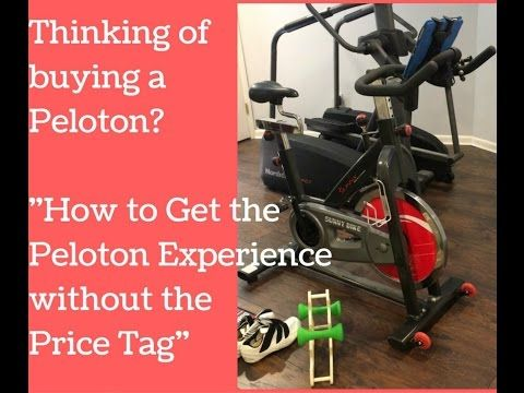 How To Use The Peloton Digital App With Any Spin Bike Spin Bikes Body Pump Excersise
