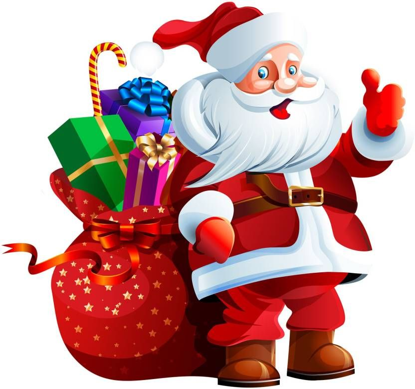 1 Video Animation Company In India Santa Claus Images Christmas Clipart Christmas Images