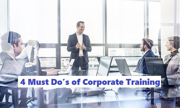 4 Must Dos Of Corporate Training Business Coaching Team