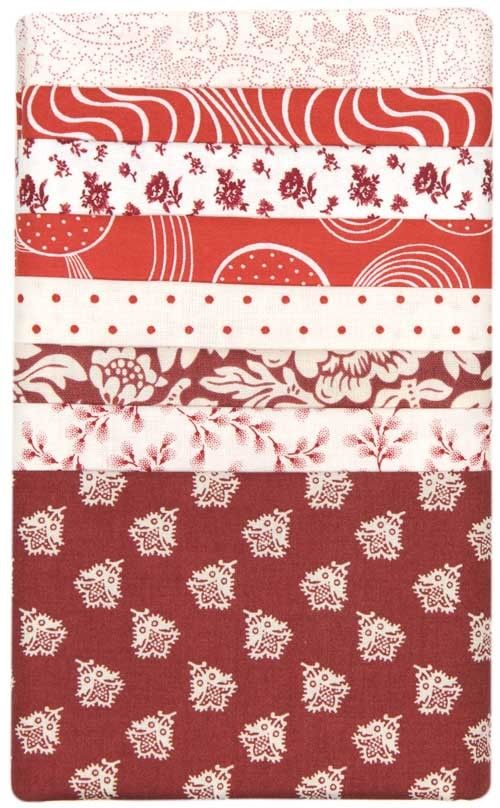 Red and White Bitty Bundle