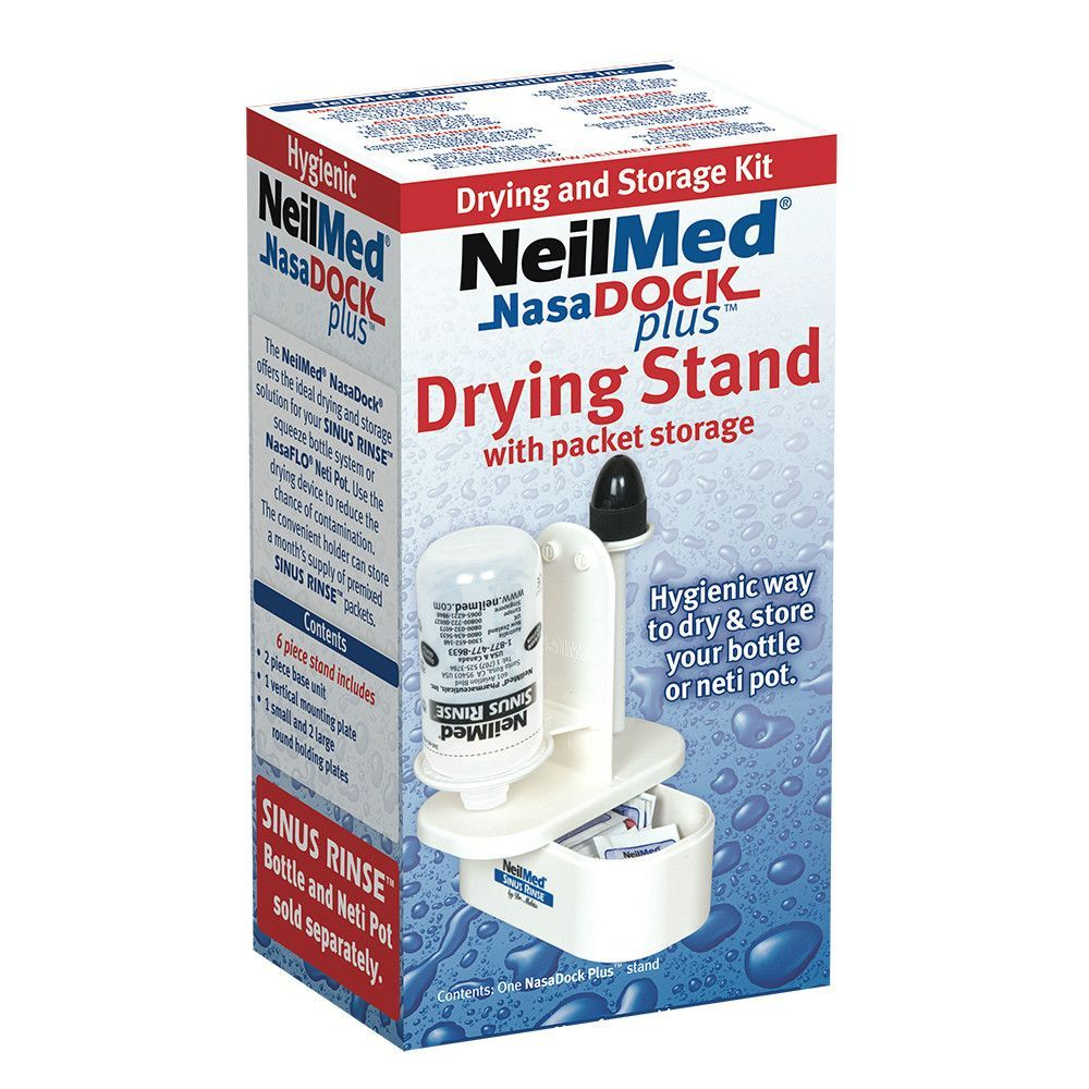 ideal drying and storage solution for your Sinus Rinse