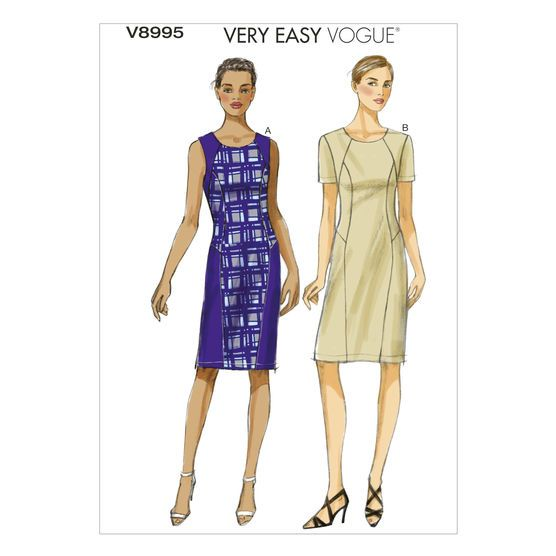 Mccall Pattern V8995 8-10-12-14-Vogue Pattern