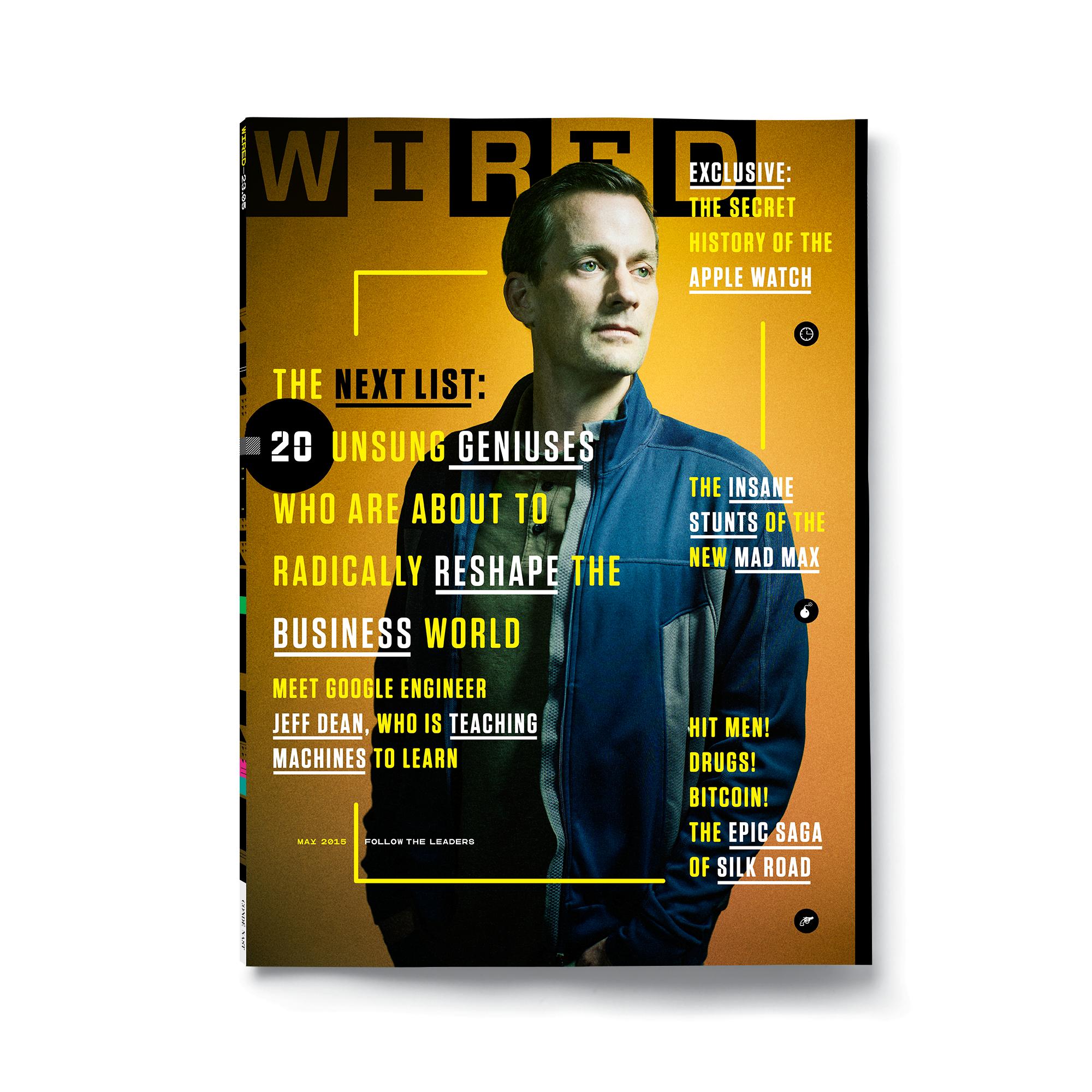 wired Editor in Chief: Scott Dadich Executive Creative Director ...