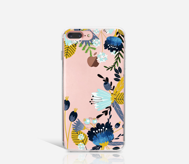 iPhone 7 Case Flower, Soft iPhone 7 Plus Case, iPhone 6 Case Clear ...