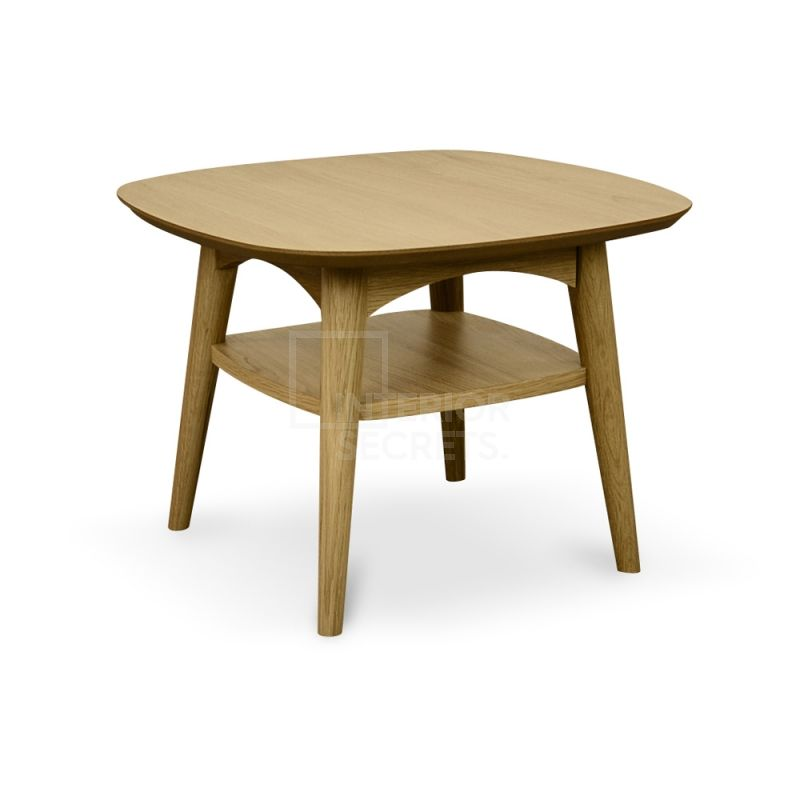 Johansen Scandinavian Lamp Side Table - Natural
