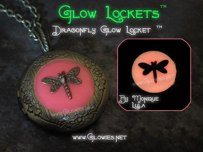 Dragonfly Glow Locket ™