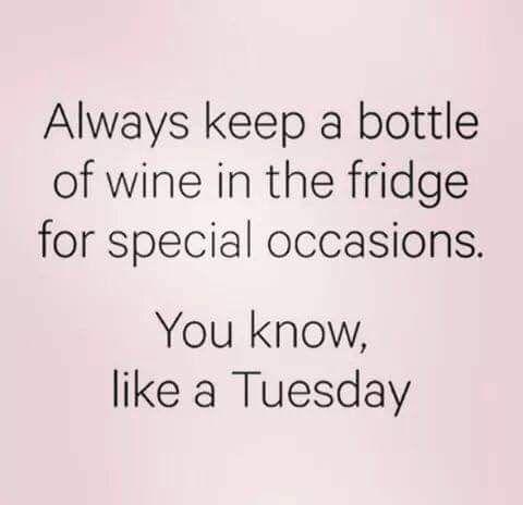 Tuesday Wine Quote Wine Quotes Wine Meme Wine Jokes