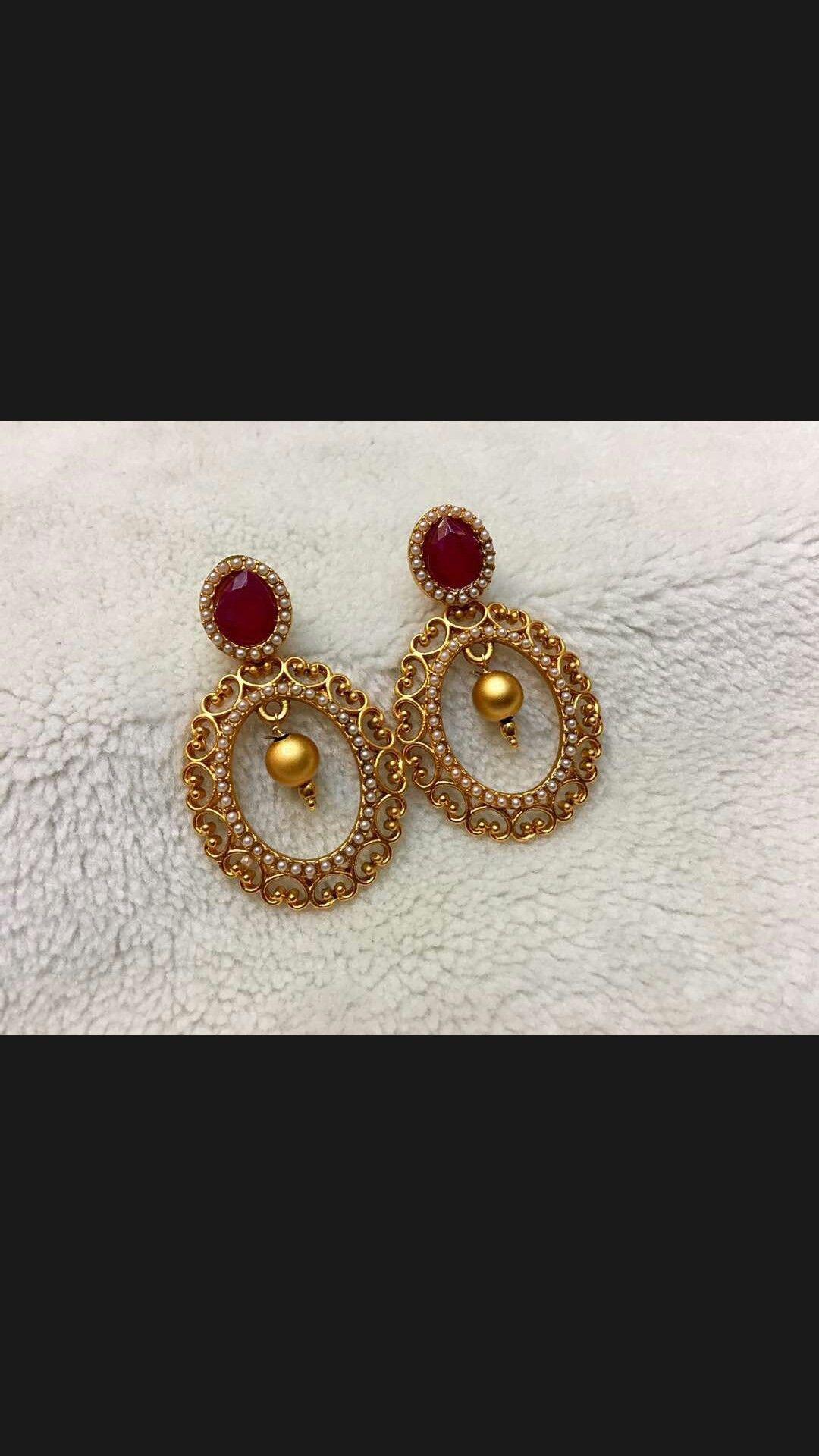 Pintrestdixna deol veera pinterest ear rings india jewelry