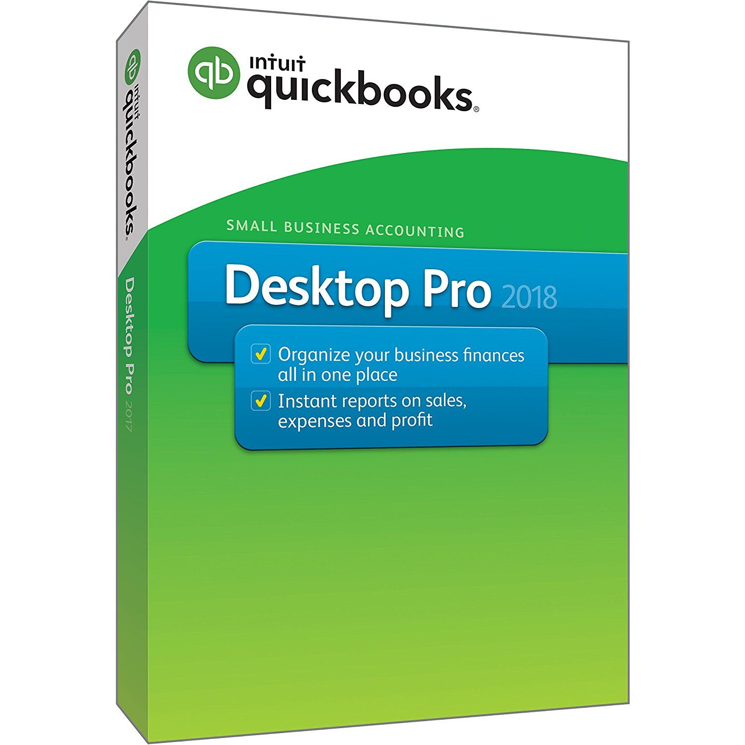 intuit quickbooks desktop pro 2018 small business accounting
