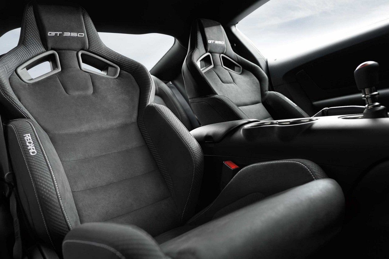 2018 Shelby Gt350 Interior Showing Off The Race Inspired Recaro