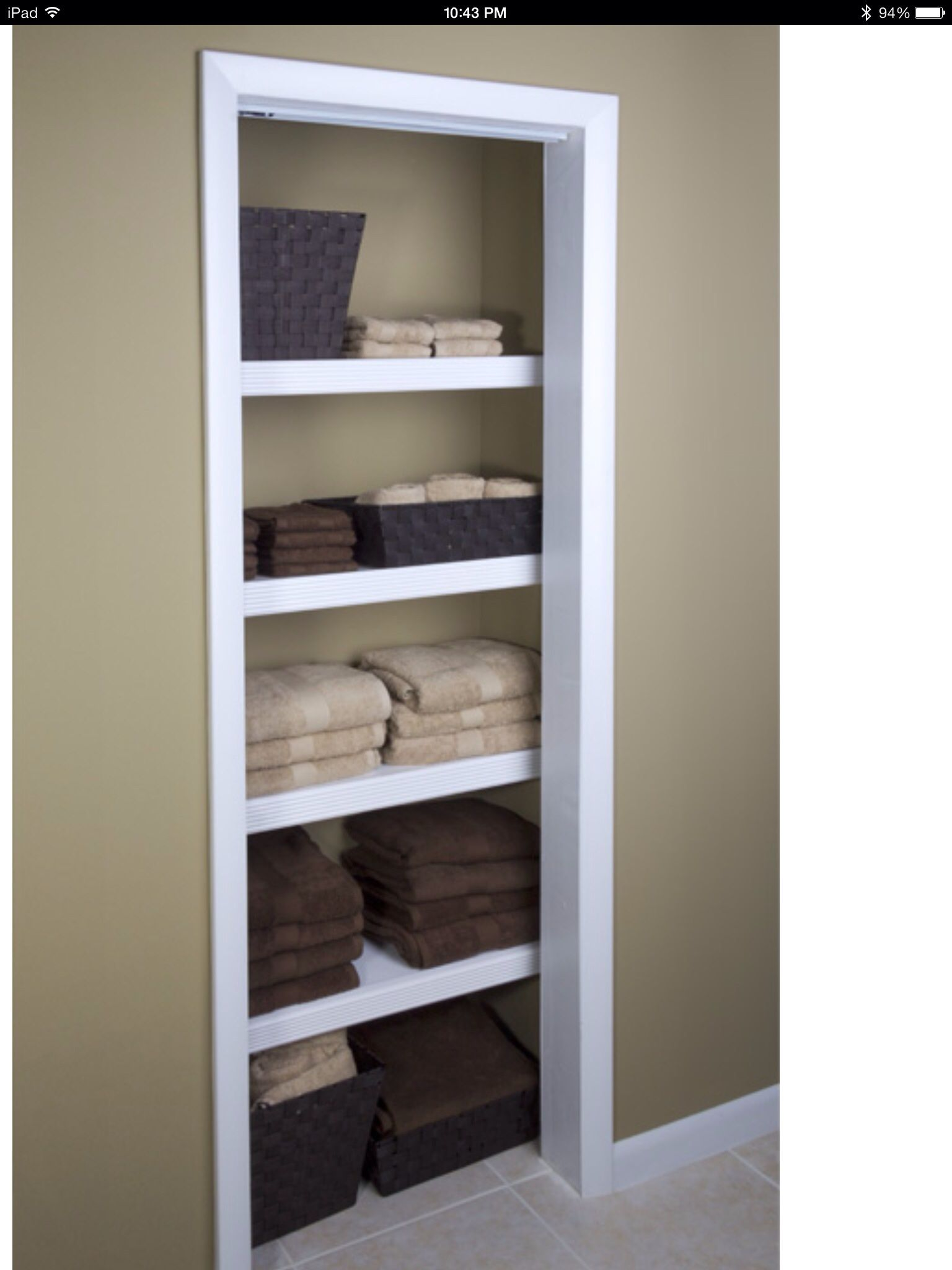 Wonderful Linen Closet Transformation