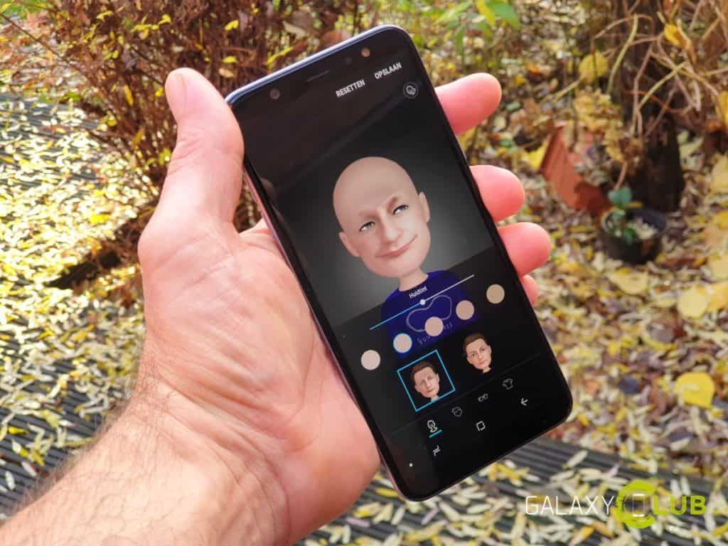 Samsung Galaxy A6 Plus krijgt update met AR Emoji november