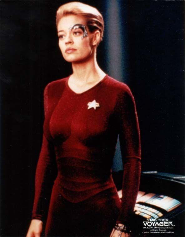 Seven Of Nine Star Trek Characters Star Trek 1 Star Trek