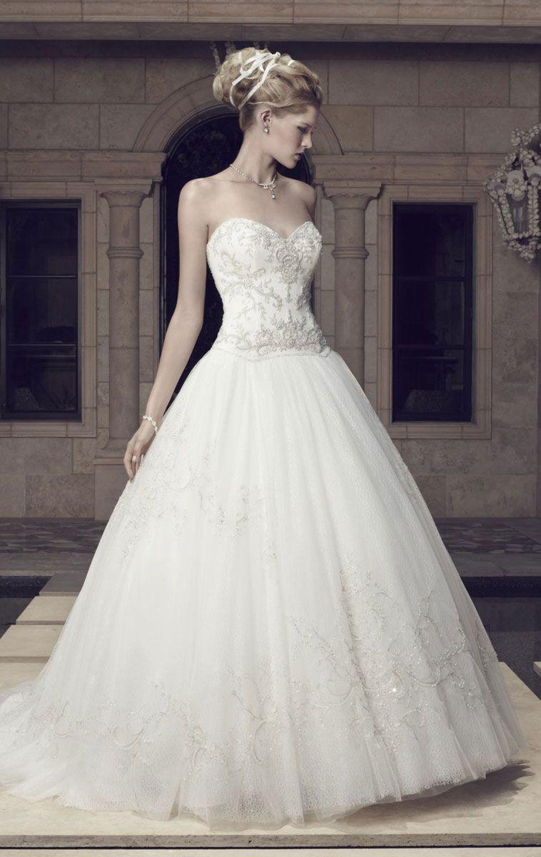 Tulle Sweetheart Natural Waist Low Back Wedding Dress Ball Gowns Wedding Wedding Dresses Casablanca Bridal Gowns [ 1200 x 758 Pixel ]