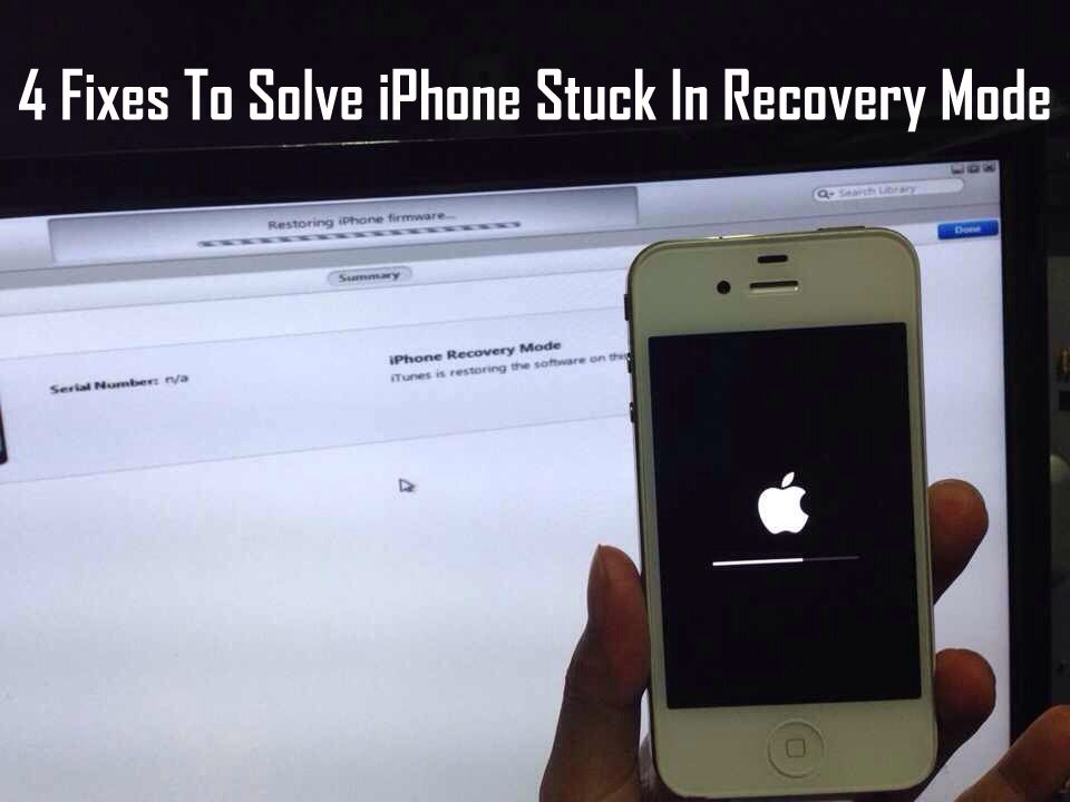 Here S How To Fix Iphone Stuck In Recovery Mode 4 Solutions