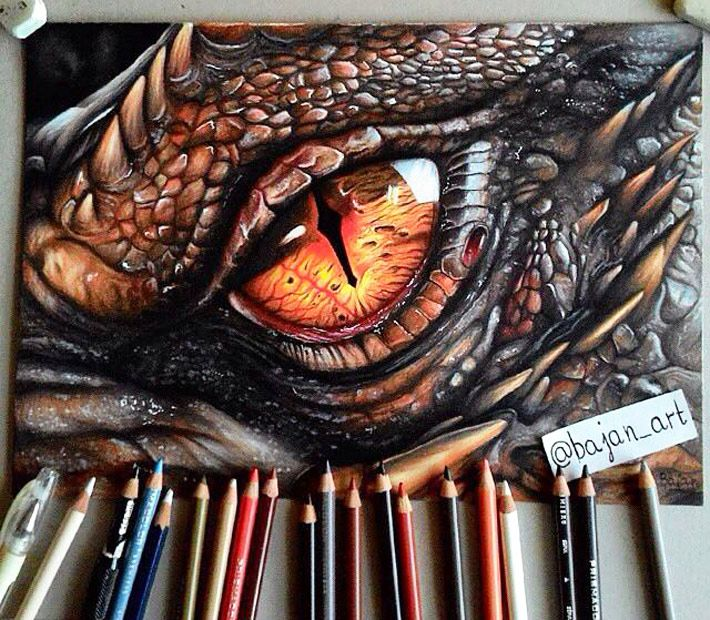 Como Dibujar Ojos De Dragon